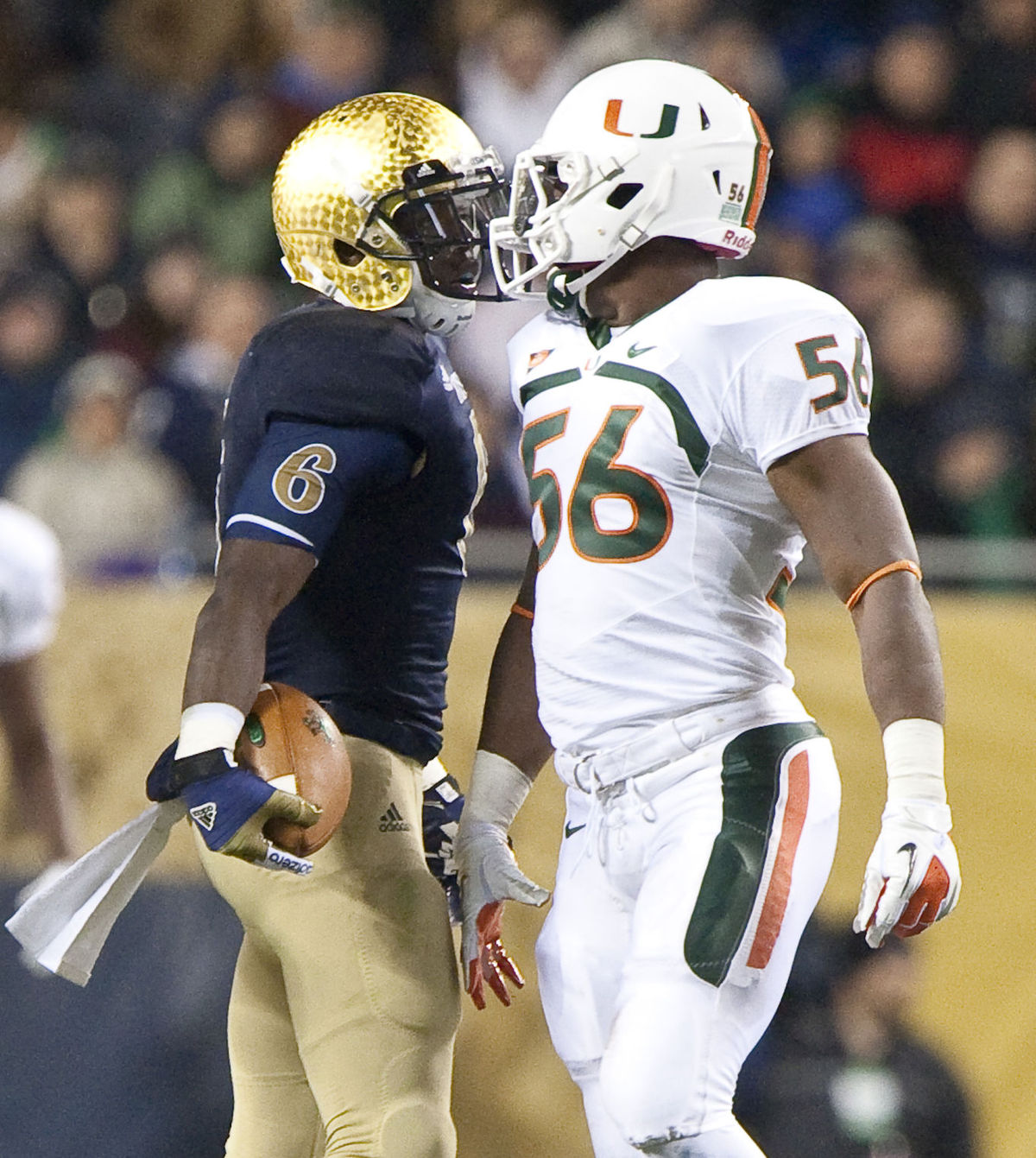 Miami vs Notre Dame Rivalry Revived