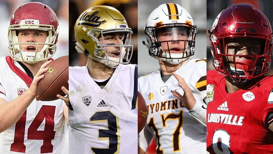 The Top 10 QBs in the 2018 NFL Draft