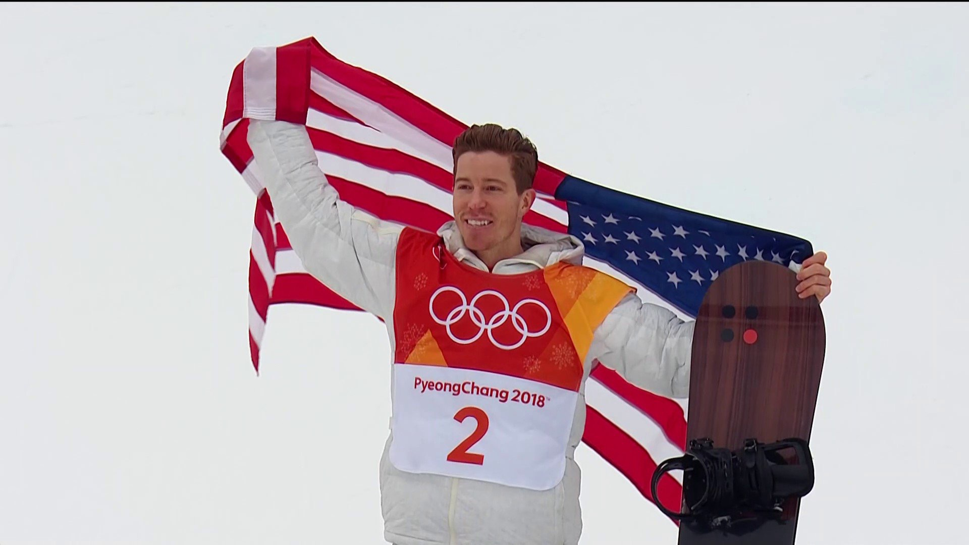 Shaun White Wins Gold in the Halfpipe and Brings Home the 100th Gold Medal in USA Winter Olympics History