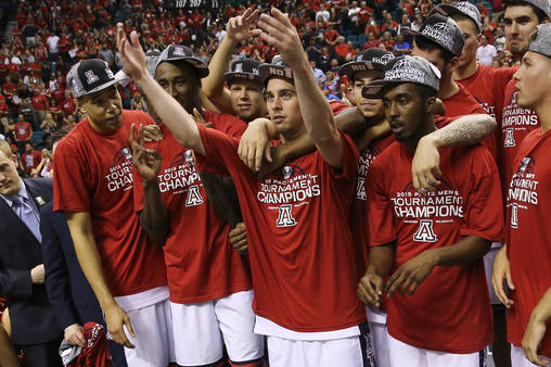 10 Teams Most Likely to win March Madness