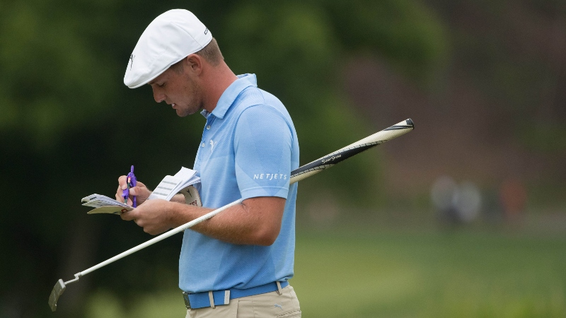 DeChambeau's Compass Draws Unwanted Attention from Tour Officials