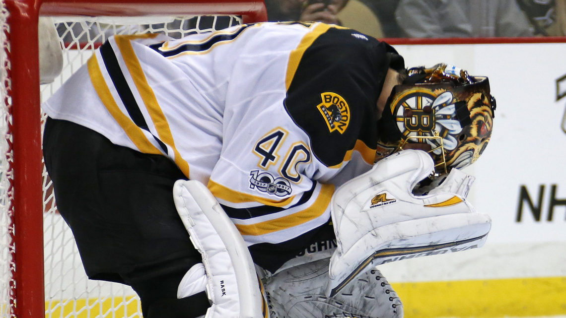 Is Tuukka Rask's Tenure in Boston Coming to an End?