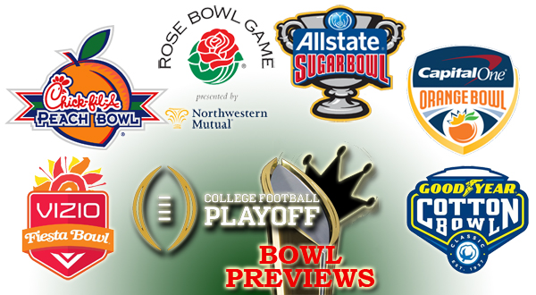 New Year's Six Bowl Game Picks