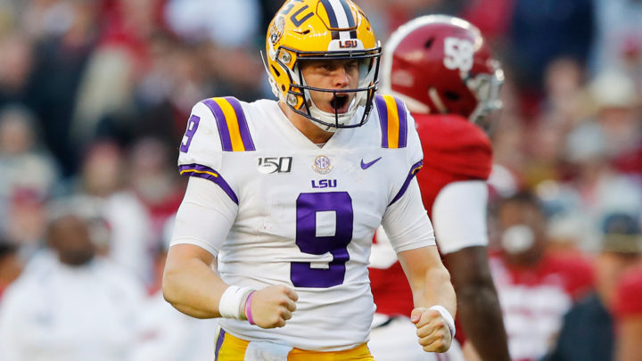 Top 10 QB/RB/WR of 2020 NFL Draft (11.18.19)